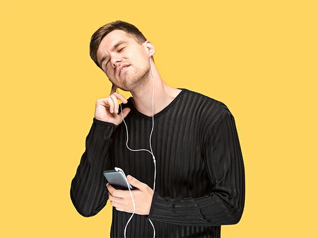 audição frequente - Aprender Espanhol com música
