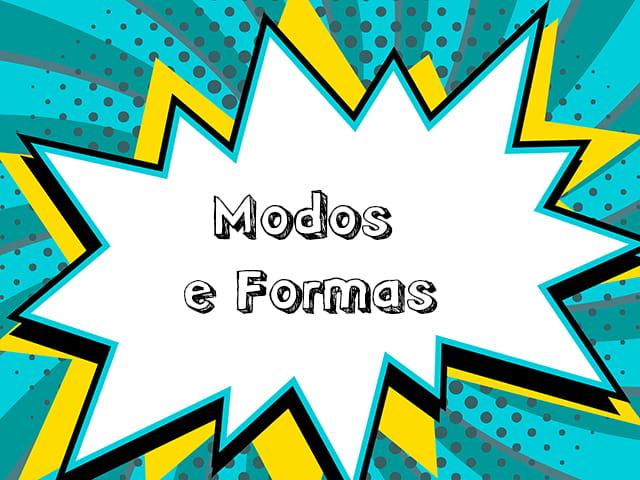 Verbos em Espanhol - Modos e Formas