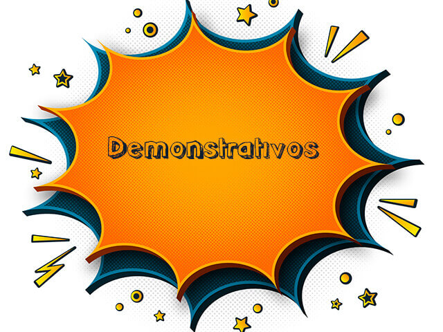 Demonstrativos - Pronomes do Espanhol