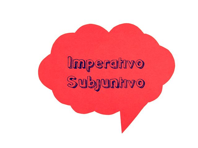 Tempos verbais no Espanhol - Imperativo